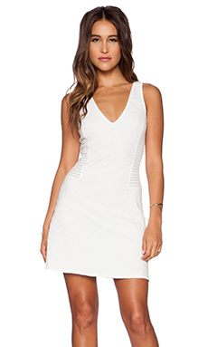 Sanctuary Spring Fit & Flare Dress in White