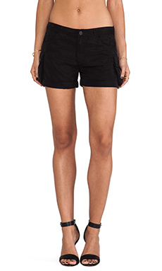 Sanctuary Army Brat Shorts in Black