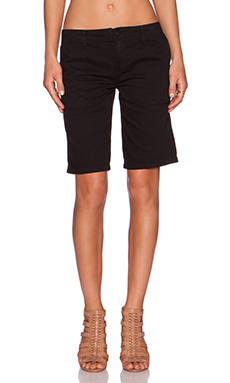 Sanctuary Peace Bermuda Short in Black