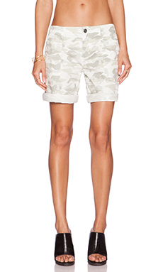 Sanctuary Spring Camo Peace Bermuda Short in Bleached Camo