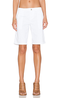 Sanctuary Peace Bermuda Short in White