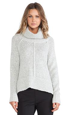 Sanctuary EZ Cowl Sweater in Silver