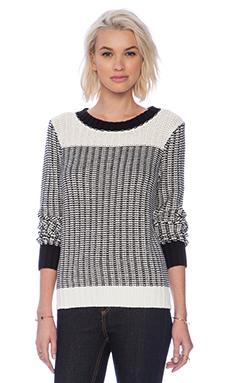 Sanctuary 24/7 Popover Sweater in Black & White