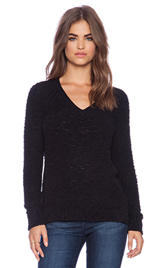 Sanctuary Teddy Bear Sweater in Black