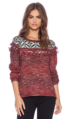 Sanctuary Craft Sweater in Ruby Read
