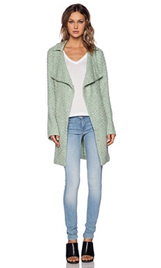 Sanctuary Aurora Sweater Coat in Winter Mint