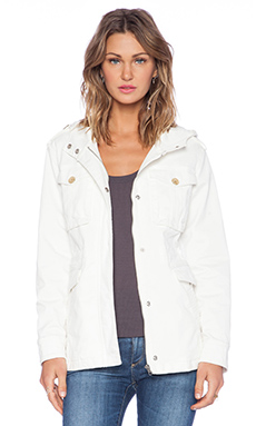 Sanctuary Snow Patrol Jacket in Winter White