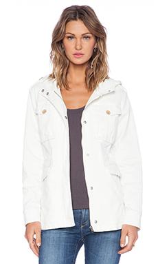 Sanctuary Snow Patrol Jacket in Winter White