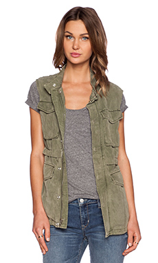 Sanctuary Courier Vest in Original Army Green