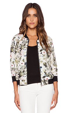 Sanctuary Bomber Jacket in Flora & Fauna