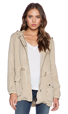 Sanctuary Spring Parka in Sandstone