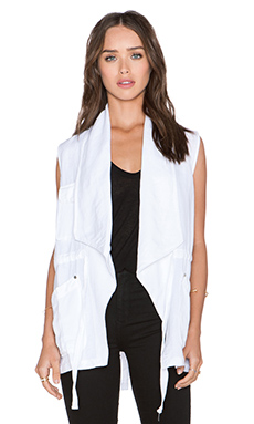 Sanctuary Traveller Vest in White