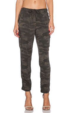 Sanctuary Soft City Pant in Charcoal
