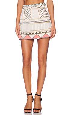 Sanctuary Party Mini Skirt in Multi