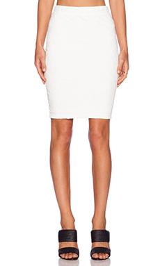 Sanctuary Pencil Midi Skirt in White
