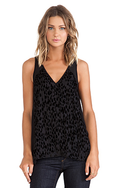 Sanctuary Drapy Party Tank in Caviar