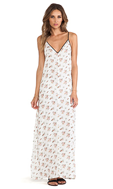 SAM&LAVI Briella Maxi Dress in Primrose