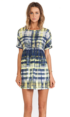 SAM&LAVI Jocelyn Dress in Tatter Plaid