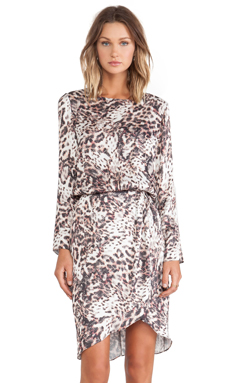 SAM&LAVI Jillian Dress in Urban Animal