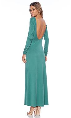 SAM&LAVI Isla Maxi Dress in Emerald