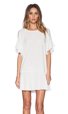 SAM&LAVI Giselle Dress in White