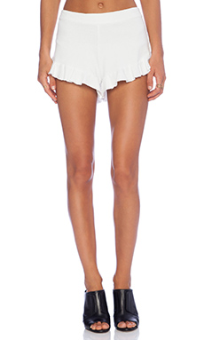 SAM&LAVI Allyson Short in White