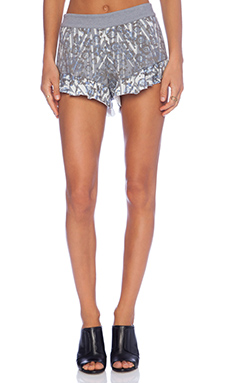 SAM&LAVI Florrie Short in Midnight Blossom