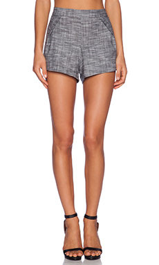 SAM&LAVI Mariah Short in Heather Chambray