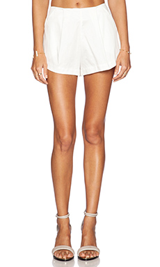 SAM&LAVI Azure Shorts in White