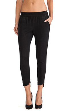 SAM&LAVI Luciana Pant in Black