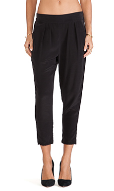 SAM&LAVI Demi Pant in Black