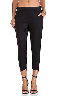 SAM&LAVI Iva Pant in Black