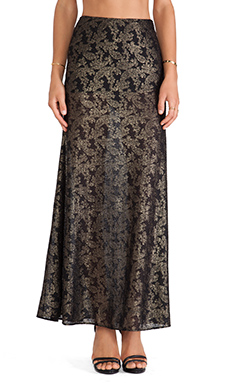 SAM&LAVI Francessca Maxi Skirt in Gilda Lace