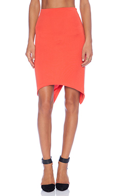 SAM&LAVI Rhea Skirt in Red Orange
