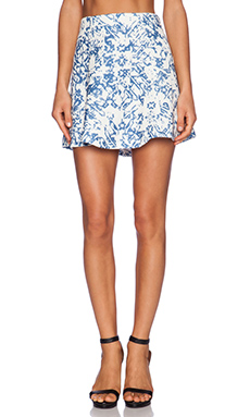 SAM&LAVI Ghita Skirt in Cannes Print