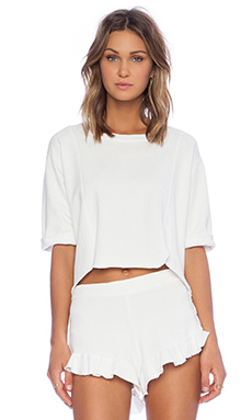 SAM&LAVI Noelle Top in White