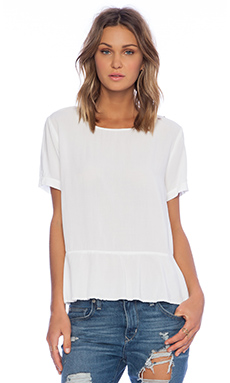 SAM&LAVI Gigi Top in White