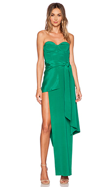 Sass & Bide The Lupa Maxi Dress in Emerald
