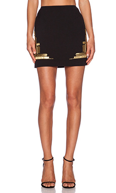 Sass & Bide Solo Silo Skirt in Black