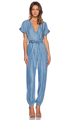 Sass & Bide The Last Thing Jumpsuit in Washed Indigo