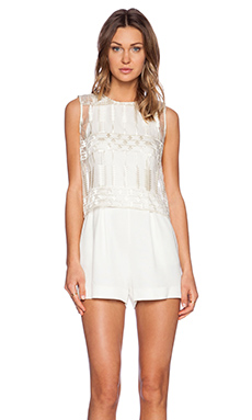 Sass & Bide The Fast Pace Jumpsuit in Ivory