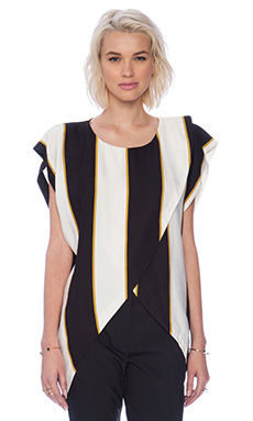 Sass & Bide Shaken and Stirred Top in Print