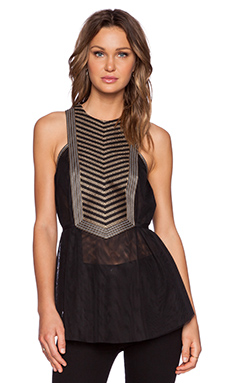 Sass & Bide Life Force Top in Black