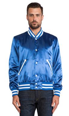 S&H Athletics Bird Jacket in Dark Blue