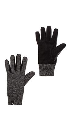 SATURDAYS NYC Robert Ragg Wool Gloves in Black