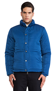 SATURDAYS NYC Tyson Down Jacket in Ink Blue