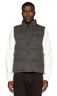 SATURDAYS NYC Cliford Vest in Speckled Black