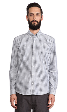 SATURDAYS NYC Crosby Button Down in Black
