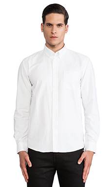 SATURDAYS NYC Crosby Buildings Button Down in White