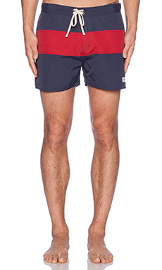 SATURDAYS NYC Grant Boardshorts in Navy